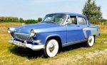 Ретро авто Volga GAZ 21 голубая аренда код 129