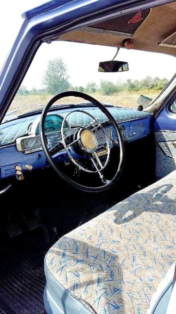 Volga GAZ 21 голубая прокат на свадьбу
