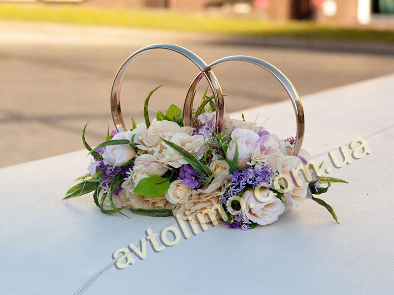 Кольца для свадьбы на машину своими руками