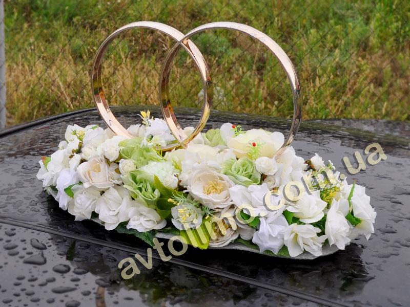Кольца своими руками на свадебную машину