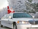 Прокат лимузина на новый год, заказ лимузина новогодний корпоратив, новогоднюю вечеринку Киев