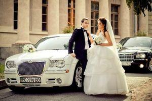 Chrysler 300С на свадьбу