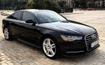 Audi A6 черная аренда авто код 123