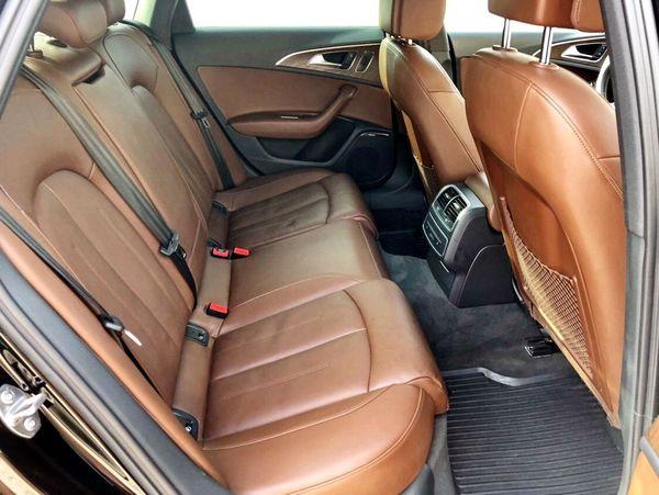Audi A6 черная на прокат в киеве