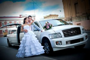 Лимузин на свадьбу аренда