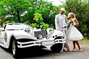Лимузин на свадьбу ретро эскалибур