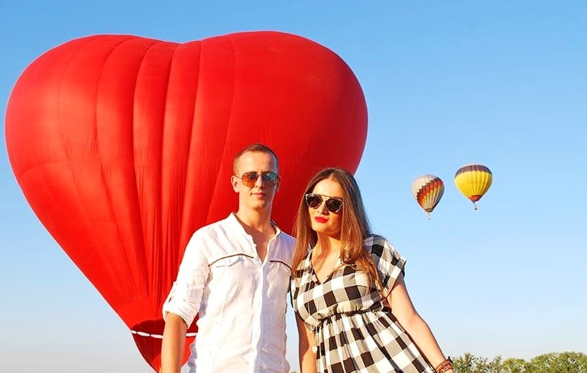 свидание на воздушном шаре аренда