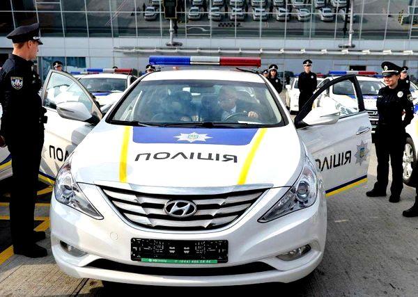 Прокат полицейской машины для съемок кино