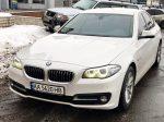 BMW 530 белая прокат аренда авто Киев цена