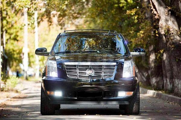 Cadillac Escalade черный на свадьбу