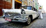 Ретро автомобиль Chayka GAZ-13 белая арендовать код 205