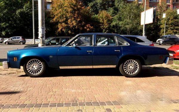 Chevrolet Malibu Classic blue прокат ретро авто