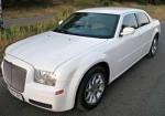Chrysler 300C белый аренда авто