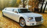 Лимузин Chrysler 300C Limo белый прокат код 015