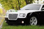 Chrysler 300C черно-белый аренда