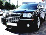 Chrysler 300C черный аренда авто на прокат код 136