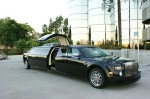 Лимузин на прокат Chrysler 300C Rolls-Royсe Phantom черный код 006