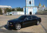 Chrysler 300C черный аренда авто Киев цена
