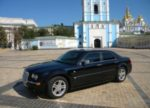 Chrysler 300C черный аренда авто