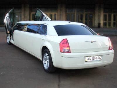 Chrysler 300C limo Vanil