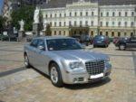 Chrysler 300C серебристый прокат авто код 138
