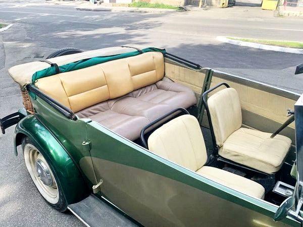 Ретро автомобиль Dampf Kraft Wagen прокат аренда