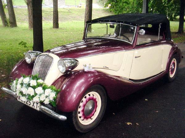 Аренда ретро автомобиля на свадьбу