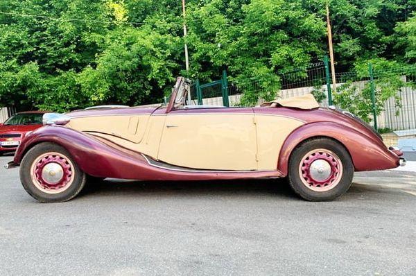 Fiat Topolino заказ ретро авто на свадьбу съемки