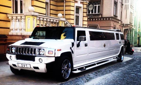 Hummer H2 лимузин на свадьбу