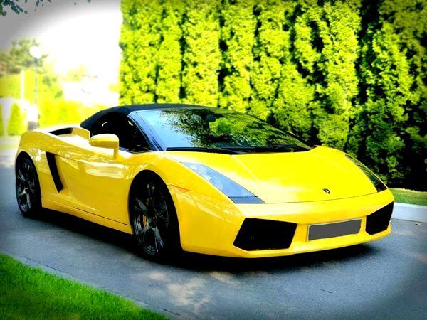 Lamborghini Gallardo прокат аренда на свадьбу фотосессию