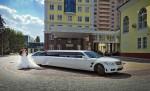 Лимузин Mercedes W221 S600 белый аренда код 030