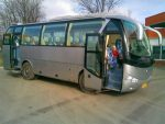Автобус Yutong арендовать заказать на прокат в Киеве
