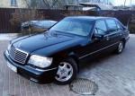 Mercedes W140 S600 прокат авто