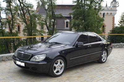 Mersedes W220 S500L