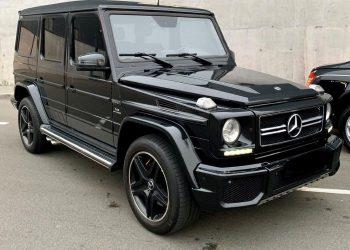 Mercedes-Benz G63AMG 2016 кубик аренда авто с водителем