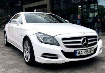 Mercedes CLS класса заказать на прокат в киеве