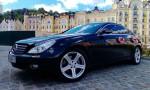 Mercedes CLS черный аренда авто Киев цена
