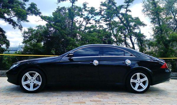 Mercedes CLS черный на прокат на свадьбу