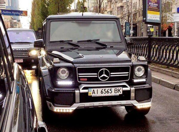 Mercedes G65 кубик на свадьбу заказать киев