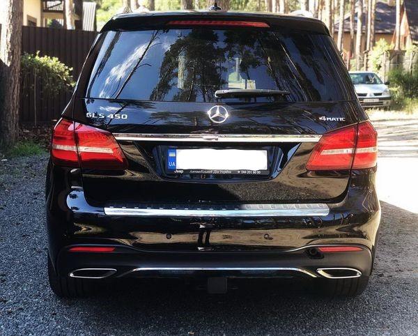 Mercedes GLS 2019 заказать на свадьбу трансфер