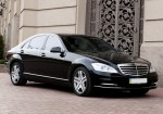 Vip-авто Mercedes W221 S500L black аренда Киев цена