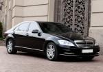 Vip-авто Mercedes W221 S500L black аренда код 092