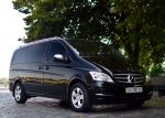 Микроавтобус Mercedes Viano black прокат аренда Киев цена