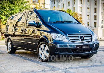 Mercedes Viano прокат аренда на свадьбу в киеве