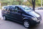 Микроавтобус Mercedes Vito black заказ аренда Киев цена
