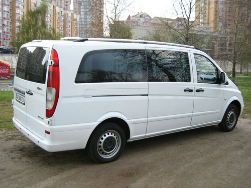 Mercedes Vito Extra Long white