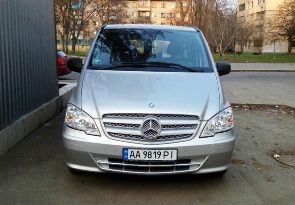 Mercedes Vito 10 мест заказать киев