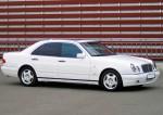 Mercedes W210 белый аренда авто Киев цена
