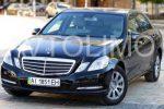 Аренда Mercedes W212 Е класса черный Киев цена