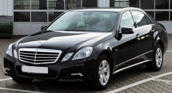 Mercedes W212 E220 черный